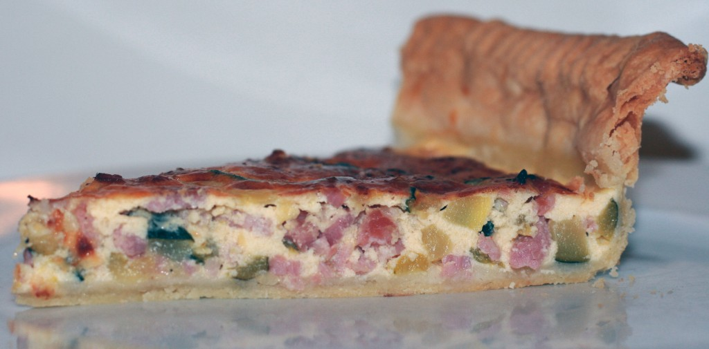 Courgette Tart