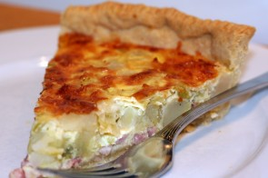 Leek and Potato Tart