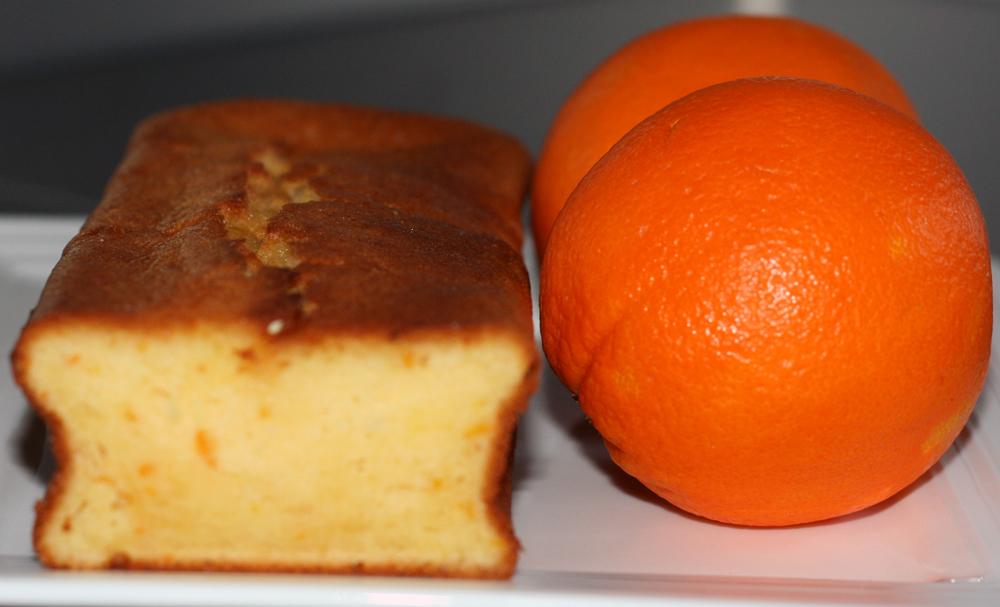 "Orange Loaf Cake ""Cake à l'Orange"""