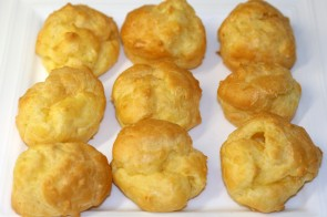 "Gougères ""Cheese Puffs"""