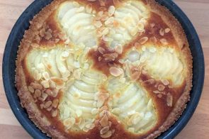 French Pear & Almond Tart